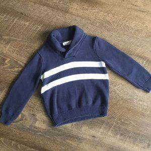 Crewcuts Blue Sweater 4/5